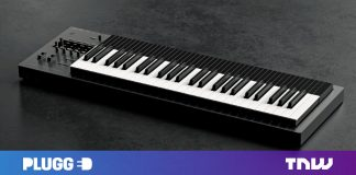 Meaningful E's Osmose keyboard seems like the synth of the future