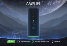 "Ubiquiti's brand-new ""Amplifi Alien"" is a mesh-capable Wi-Fi 6 router"