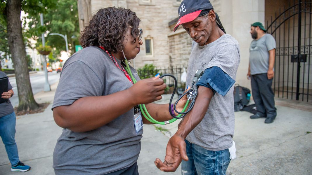 They Bring Treatment To The Homeless And Develop Relationships To Conserve Lives