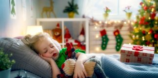 Turn Holiday Lights Into Festive 'Nightlights' in Your Kid's Room