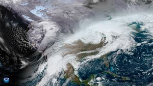 Those Thanksgiving-wrecking winter storms sure look serious from space