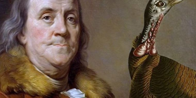 That time Benjamin Franklin tried (and failed) to electrocute a turkey