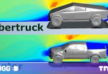 Here's how the Cybertruck's aerodynamics compare to regular trucks