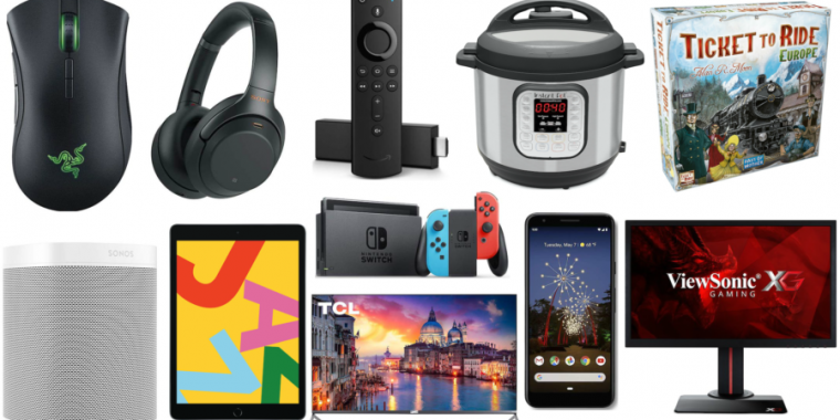 Dealmaster: All the Cyber Monday 2019 tech deals that are still hot