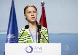 Greta Thunberg, climate activist, is the youngest Time Person of the Year