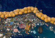 Nonprofit The Ocean Cleanup shows off its horrifying plastic trash haul