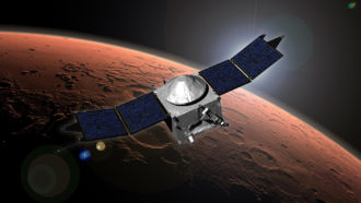 NASA's MAVEN probe shows how wind circulates in Mars' upper atmosphere