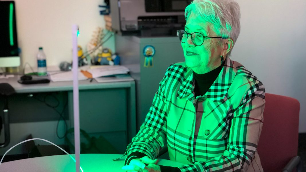Researchers Explore A Drug-Free Idea To Relieve Chronic Pain: Green Light