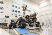 NASA's Mars 2020 rover passes its first driving test