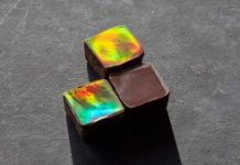 Scientists create dazzling color-changing chocolates