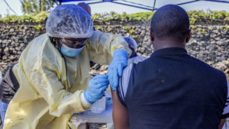 In a first, an Ebola vaccine wins approval from the FDA