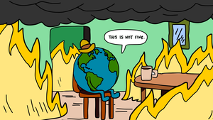 Climate change is here and things are not fine
