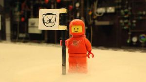 Scientists chilled Lego bricks to near absolute zero to see what happens