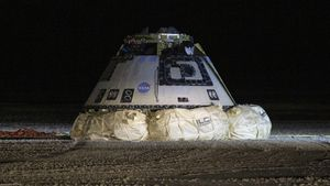 Boeing Starliner lands safely in the desert after failing to reach the ISS