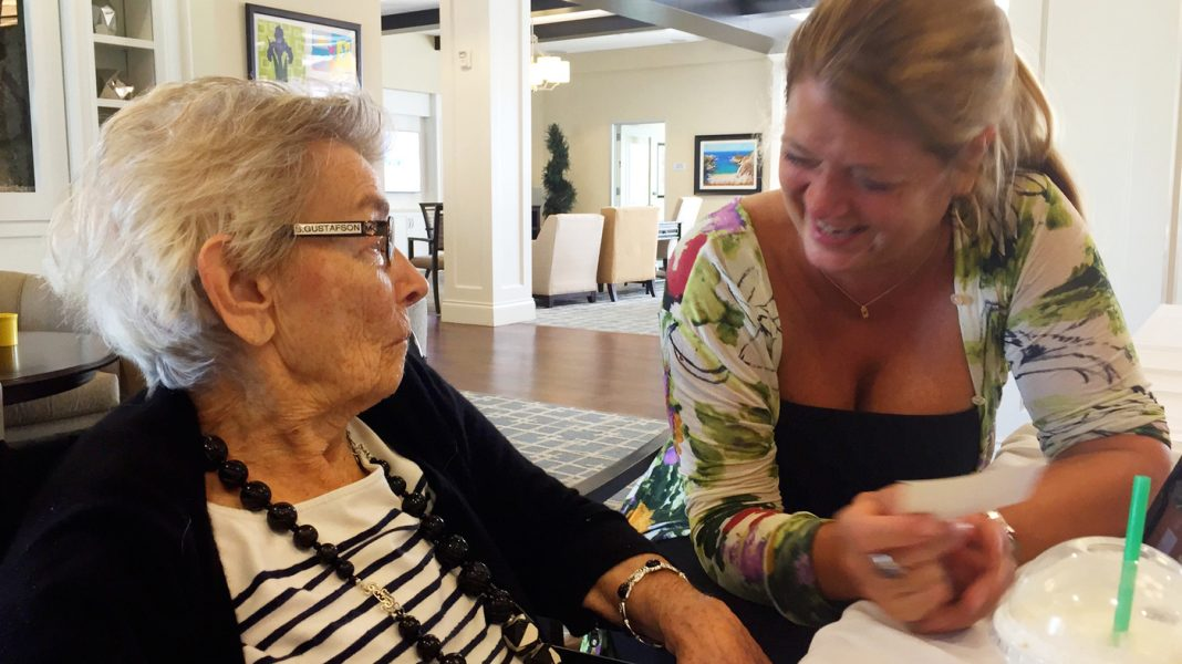 Her Mom Was Lost In Dementia's Fog. Singing Christmas Carols Brought Her Back