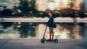 Electric scooter injuries rose 222 percent in 4 years in the U.S.