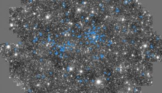 Young stars have been found in an old part of our galaxy
