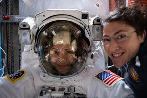Watch the second all-female spacewalk happening right now