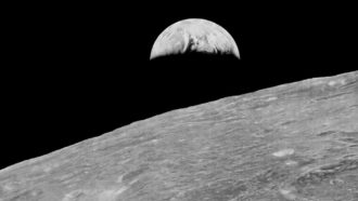 The sterile moon may still hold hints of how life began on Earth