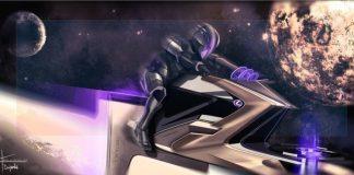 Lexus had its European design team imagine vehicles for moon mobility