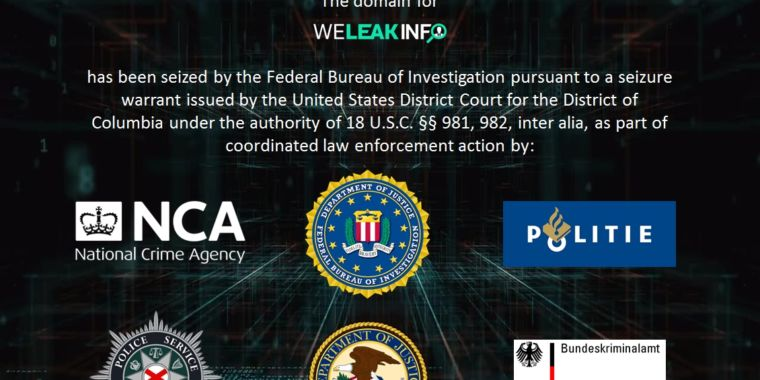 WeLeakInfo gets pwned by FBI; Dutch, Irish police arrest alleged breach brokers