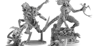 Nemesis brings alien impregnation horror to your tabletop—and it works