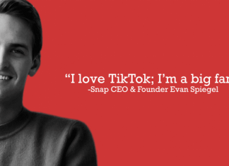 Snap founder says TikTok could dethrone Instagram
