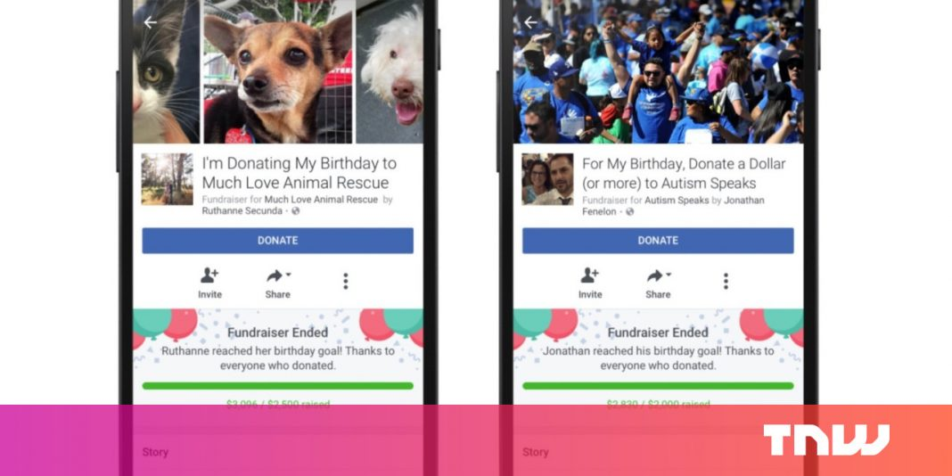 How to set up a birthday fundraiser on Facebook
