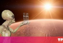 Salty Mars water could hold proof of primitive life
