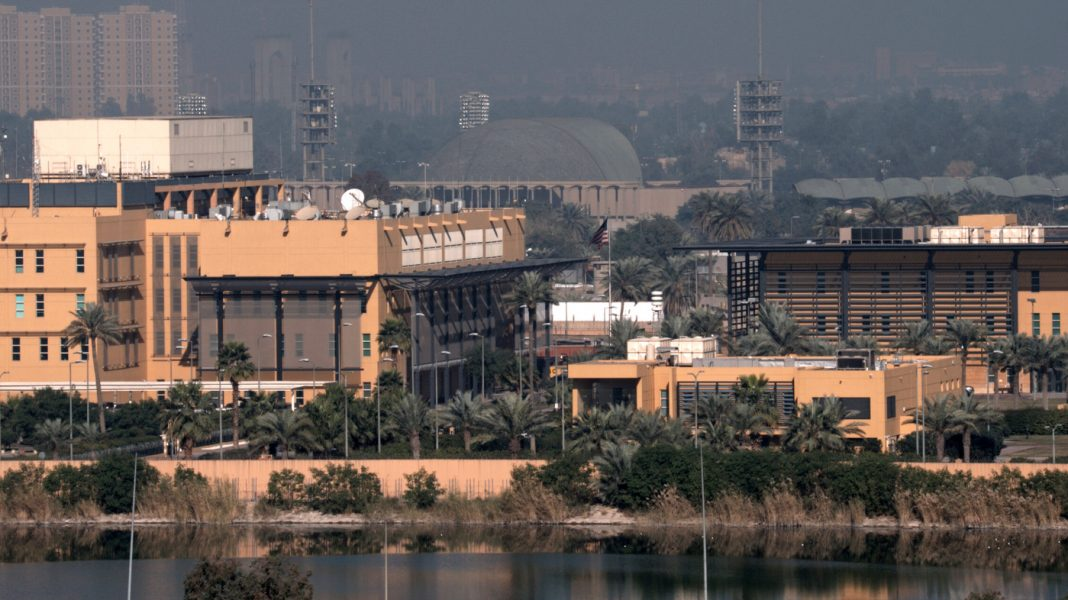 Mortar Attack Damages Part of U.S. Embassy Compound In Baghdad