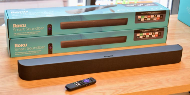 Roku Smart Soundbars can now be used to make surround sound systems