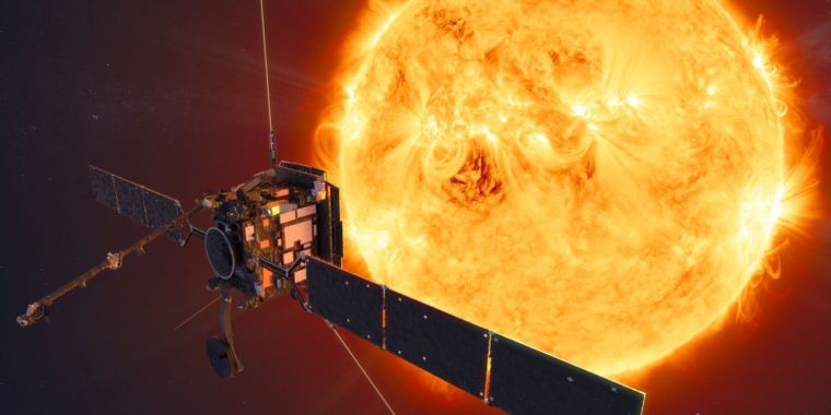 Europe's solar orbiter begins its journey to the Sun