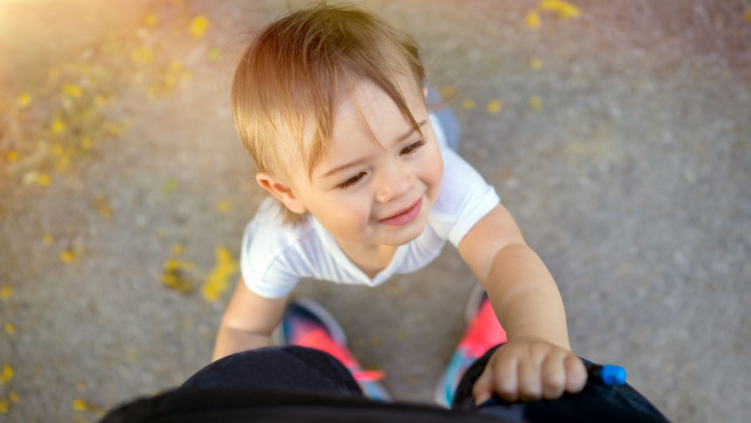 How to Politely Get a Toddler to Leave You Alone