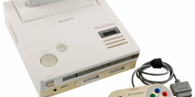 The world's only known Nintendo PlayStation could be yours—for over $15,000