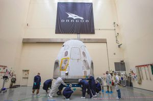 SpaceX Crew Dragon preps for first flight in Florida