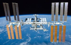 Contaminated water on the space station not growing killer bacteria