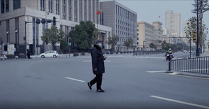 Chilling footage emerges of China's deserted streets in coronavirus epicenter