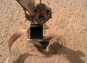 NASA Insight lander will give its stuck Mars 'Mole' a push