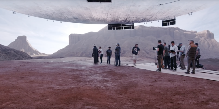 The Mandalorian was shot on a holodeck-esque set with Unreal Engine, video shows