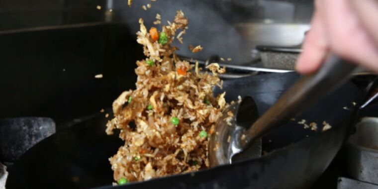 Georgia Tech physicists unlock the secret to perfect wok-tossed fried rice