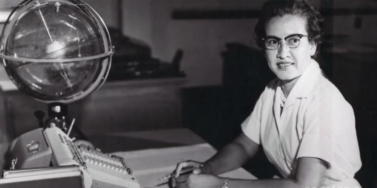 One of NASA's greatest mathematicians, Katherine Johnson, has died