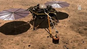 NASA InSight lander reveals Mars is highly active below the surface
