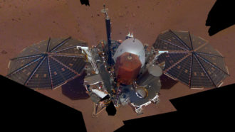 What NASA's InSight lander has learned about Mars' magnetism and quakes