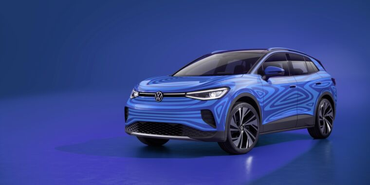 This is our best look yet at VW's new electric crossover, the ID.4