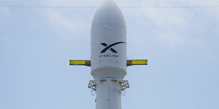 For this launch, everything on the rocket is recycled but the second stage