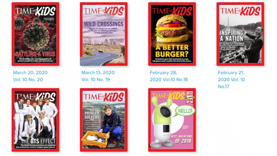 Download 'TIME for Kids' for Free