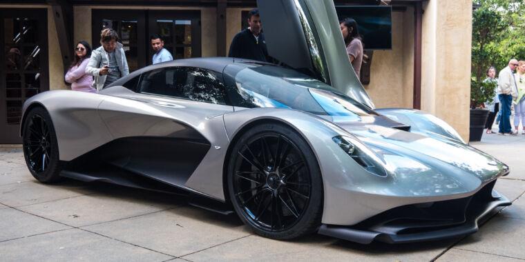 Aston Martin designs a new V6 for James Bond—and the Valhalla hypercar