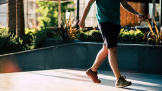 The number of steps per day, not speed, is linked to mortality rate