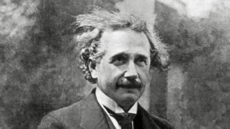 Einstein's letters illuminate a mind grappling with quantum mechanics