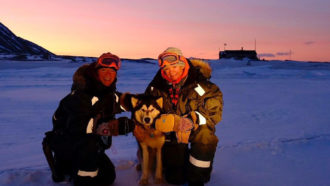 These women endured a winter in the high Arctic for citizen science